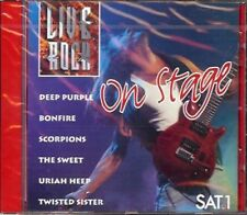 V/A On Stage Liverock - CD, The Sweet, Scorpions, Meat Loaf, Uriah Heep a.m. NEW