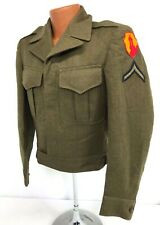 1946 Us Army Antilles Puerto Rico Enlisted Ike Jacket