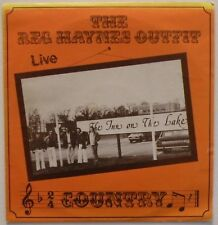 REG HAYNES AND THE OUTFIT – Live (DTS.003) Vinyl LP Album; UK - VG+/VG+