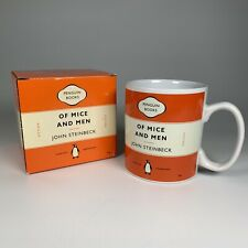 More details for penguin classics collection - mug. john steinbeck. of mice and men new and boxed
