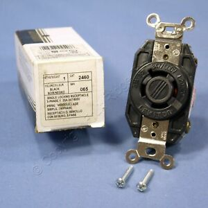 Leviton L20-20R Twist Locking Receptacle Outlet 20A 347/600V 3ØY 2460-065 Boxed
