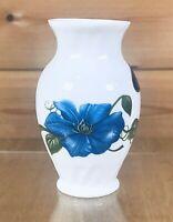 Aynsley China Chelsea Flowers Bone China Vase Made in England