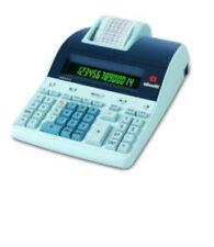 Calcolatrice nera  olivetti 914/t professionale con rotolino