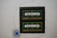 8GB (2x 4GB ) DDR3 2Rx8 10600S 1333 MHz Samsung Laptop RAM
