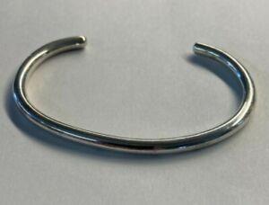 SILPADA Retired Sterling Silver Slim Tubular Cuff Bracelet B0390