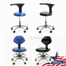 Adjustable Dental Medical Doctor Assistant Stool Mobile Fit Dental Exam Chair