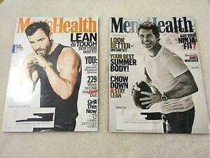 Men's Health Magazine Justin Theroux James Marsden June July/August 2018 Fitness