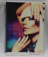 4 Column Appointment Book 200 pages  For Office/ Hair Nail Beauty Salon/Spa