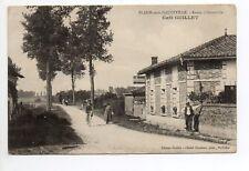 BLAISE SOUS HAUTEVILLE Marne CPA 51 le café GUILLET commune supprimée