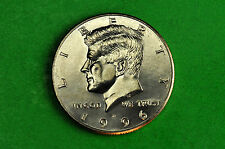1996-D  BU  Mint State Kennedy US Half Dollar Coin
