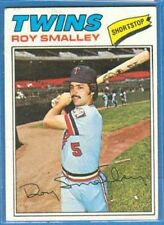 Roy Smalley, 1977 Topps #66, Twins
