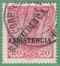 Portugal Telegraph Stamp Barefoot #1 used 20R 1911 cv $6.50