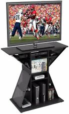 "New Video Game Xbox PS3 PS4 Stand Gaming Storage Rack Hub for 42"" flat panel TV"