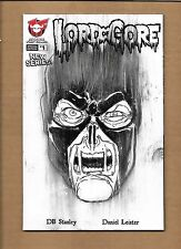 LORD OF GORE #1 HAND DRAWN SKETCH INCENTIVE VARIANT COVER 1/1  DANIEL LEISTER