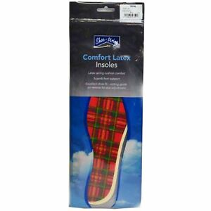 Adults Shoe-String Comfort Latex Insoles