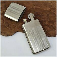 Briquet essence plat neuf ancien stock-poilus-vintage-petrol Lighter-Feuerzeug-a