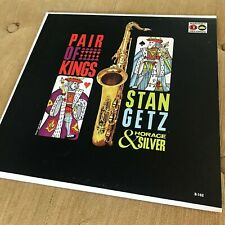 Stan Getz, Horace Silver; Pair of Kings, Baronet, B-102, Mono, top copy