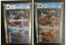 Wolverine #4 (2×) CGC 9.8's (10/20) Omega Red Cover 1st & 2nd Prints