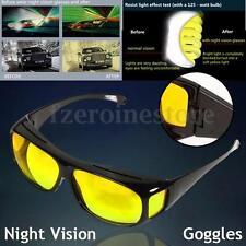 Night Optic Vision Driving Anti Glare HD Glasses UV Protection Eyeglasses
