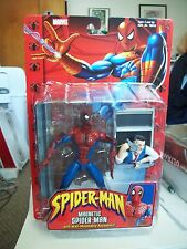 MARVEL LEGENDS SPIDERMAN CLASSICS MAGNETIC SPIDERMAN FIGURE TOYBIZ DEADPOOL EYES