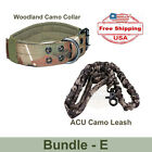 Tactical Dog Collar + Tactical Bungee Leash With Handle - FREE SHIPPING