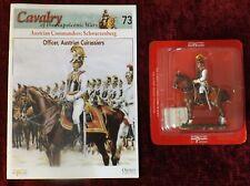 Del Prado Cavalry of the Napoleonic Wars No 73 Officer,Austrian Cuirassiers,1814