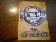 2012 NEW YORK-PENN LEAGUE PROSPECTS Single Cards YOU PICK FROM LIST $2 each OBO