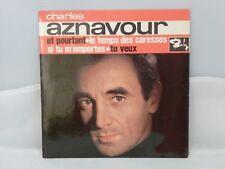 Charles Aznavour – Et Pourtant                             Barclay – 70 604