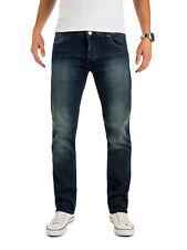 WOTEGA Herren Jeans Hose Stretch Denim Vintage Jeanshose Slim Fit Ivern