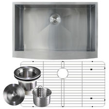 16 Gauge Stainless Steel Apron Front Farmhouse Kitchen Sink Undermount 36 inch