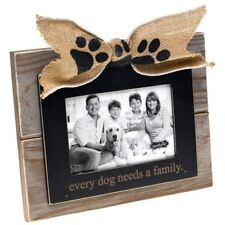 Dog Lovers Family Photo Picture Frame by Mud Pie Gifts for Dog Lovers Memorial