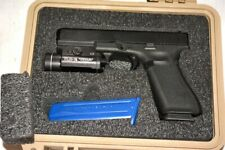 Foam kit for Pelican 1200 case fits Glock 19 Pistol with Streamlight Tlr +6 mags