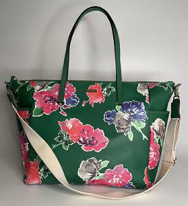 KATE SPADE Adaira Sprout Green Diaper Bag