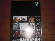 Prospekt Sales Brochure Puch MS 50 V  Maxi 2K Moped Mokick Mofa   автомобиль