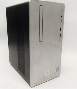 HP 595-p0074 Desktop Core i5-8400 2.8GHz 12GB RAM 128GB SSD 1TB HDD  Win10
