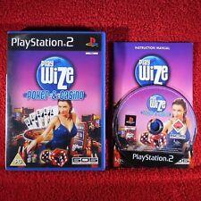 PLAYWIZE POKER & CASINO - PlayStation 2 PS2 ~PAL~