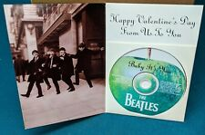 The Beatles Baby It's You RARE promo Valentine's Day card CD single '02 (SEALED)