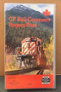 C P RAIL CONQUERS ROGERS PASS - RAILWAY VIDEO - VHS