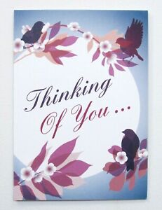 Thinking Of You Sympathy Greeting Card by Cards For You Male/Female/Friend