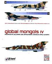 lh905/ Lift Here Decals - MiG-21UM - Global Mongols - Pt. IV - 1/72