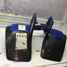 Yamaha Warrior 350 front fender flairs mudflaps A+ fender is cut. oem video #65