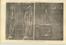 1902 Design For A Lectern In Cast Bronze By Miss S Thompson