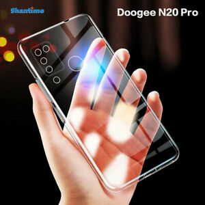 Shockproof Clear Slim Bumper TPU Soft Ultra Thin Case Cover For Doogee N20 Pro