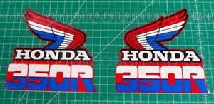 85' 1985 XR 350r xr350 2pc gas tank graphics decals graficos stickers AHRMA MX