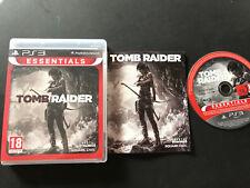 Tomb Raider PS3 Play Station 3 PAL ESPAÑOL