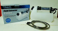 TRAC Oil Fluid Liquid Extractor 3.2 Quart (3.0L) - NEW Boat Car Auto Pump