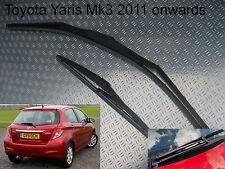 Front & Rear Wiper Blades Toyota Yaris Mk3 2011 2012 2013 2014 1.0 1.3 1.4