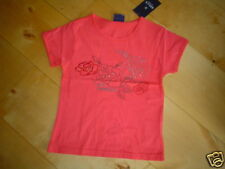 So 09- T-shirt brodé, rouge V. Mills Taille : 128-152