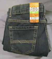 Arizona Girls 10 Slim, Adjustable Waist, Straight Leg Jeans, New with Tags