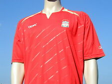 BNWT 2005-2006 Reebok Liverpool FC European Unsponsored Player Issue ? Shirt XL